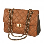 Aintree From paddock to Grand Stand this sporting quilted handbag needs no introduction. Tactile to touch and durable in every field of life with ample room for a growing purse.