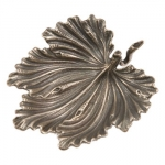 Sterling Silver Fig Leaf Placecard Holder