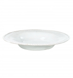 Incanto White Baroque Pasta/Soup Bowl