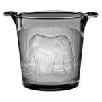 Mare and Foal Stall Scene Small Ice Bucket