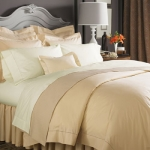 Sferra Celeste Ivory Pair, King Pillowcases