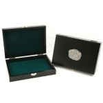 Wine Box with Polo Medallion 8 3/4\ x 6\