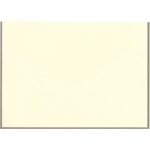 Crane Taupe Hand Bordered Notes on Ecru 3 15/16\ x 5 9/16