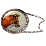 Custom Fox Medallion Bracelet