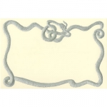 Dempsey & Carroll Snake Border Cards with Lined Envelopes
