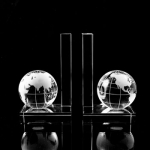 Pair Globe Bookends