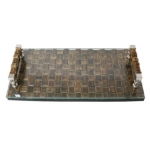 Rectangular Rangoon Cheese Platter/ Vanity Tray