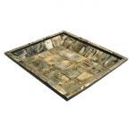 Tapered Edge Tray Aspen