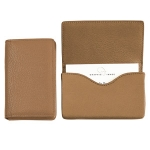 Tan Magnetic Card Case