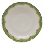 Fish Scale Evergreen Canton Saucer