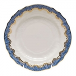 Fishs Sale Blue Bread and Butter Plate
