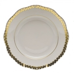 Golden Laurel Bread and Butter Plate