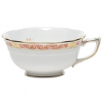 Chinese Bouquet Garland Rust Tea Cup