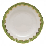 Fish Scale Evergreen Salad Plate