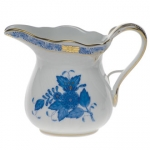 Chinese Bouquet Blue 6oz  Creamer