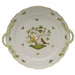Rothschild Bird 12\ Chop Plate with Handles
