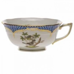 Rothschild Bird Blue Border Tea Cup - Motif #8