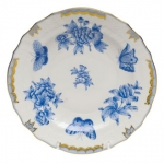 Fortuna Blue Salad Plate