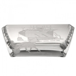 Etched Crystal Pacer With Grandstand Bowl