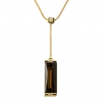 Baccarat Brown and Gold Insomnight Necklace with Diamond