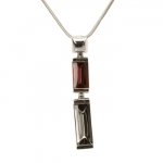 Baccarat Red and Silver Insomnight Pendant