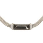 Baccarat Silver Insomnight Necklace