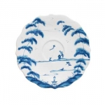 Country Estate Delft Blue Tea Cup Saucer