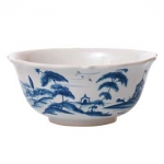 Country Estate Delft Blue Cereal/Ice Cream Bowl