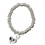 Links of London Sweetie Thumbprint Heart Charm