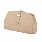 Phil LuanGrath Winter White Jujuy Clutch The Jujuy Clutch is made from farm raised ostrich in South Africa. 