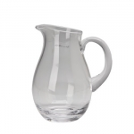 Small Classic Glass Pitcher
