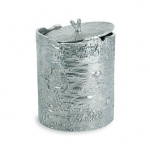 Polished Bark Ice Bucket
