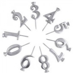 Set of Ten Numbers Candle Holders