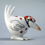 Meissen Red Jockey Bird The history of porcelain manufacturing in Europe begins in Meissen, Germany near Dresden, the cradle of European porcelain. Apart from the short-lived production of the Medici factory in Florence in the 1560\'s, Meissen was the first successful producer of hard-paste porcelain - or true porcelain - in Europe. Meissen\'s products, and those of its imitators, who came later, destroyed the supremacy of the oriental porcelain that had held a virtual monopoly in the world since Marco Polo opened the china trade in 1295. 
