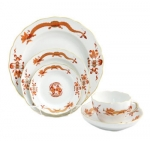 Meissen Rich Court Dragon Five Piece Place Setting