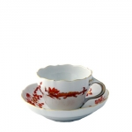 Rich Court Dragon Coffee Cup And Saucer