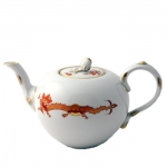Meissen Rich Court Dragon Teapot