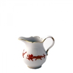Meissen Rich Court Dragon Creamer The history of porcelain manufacturing in Europe begins in Meissen, Germany near Dresden, the cradle of European porcelain. Apart from the short-lived production of the Medici factory in Florence in the 1560\'s, Meissen was the first successful producer of hard-paste porcelain - or true porcelain - in Europe. Meissen\'s products, and those of its imitators, who came later, destroyed the supremacy of the oriental porcelain that had held a virtual monopoly in the world since Marco Polo opened the china trade in 1295. 