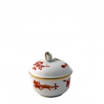 Meissen Rich Court Dragon Covered Sugar The history of porcelain manufacturing in Europe begins in Meissen, Germany near Dresden, the cradle of European porcelain. Apart from the short-lived production of the Medici factory in Florence in the 1560\'s, Meissen was the first successful producer of hard-paste porcelain - or true porcelain - in Europe. Meissen\'s products, and those of its imitators, who came later, destroyed the supremacy of the oriental porcelain that had held a virtual monopoly in the world since Marco Polo opened the china trade in 1295. 