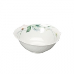 Waves Relief Woodland Flora Dessert Bowl
