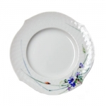 Waves Relief Woodland Flora Dessert/Salad Plate