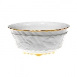 Swan Service Gold Filet Bowl