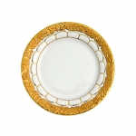 Golden Baroque Dinner Plate