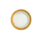 Golden Baroque Bread And Butter Plate