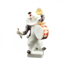 Clown Drummer Figure
