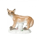 Standing Fox Figurine