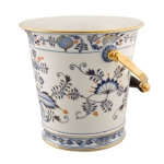 Meissen Rich Blue Onion Champagne Bucket