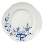 Blue Onion Vine Relief Dinner Plate