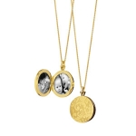 Signature Round Floral Locket