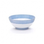 Cornflower Lace Round Bowl